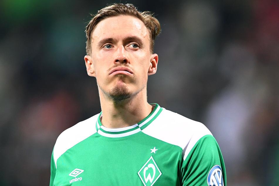 Max Kruse (32) im Trikot von Werder Bremen. (Archivbild)