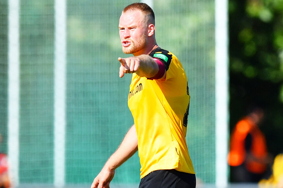 Dynamo-Kapitän Sebastian Mai (27) soll den verletzten Tim Knipping (28) in den kommenden Wochen und Monaten ersetzen.