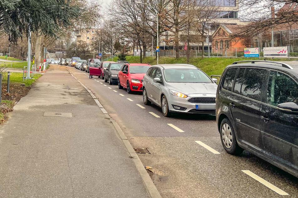 Ein Autokorsos sorgte am Sonntag in Heilbronn für verstopfte Straßen.