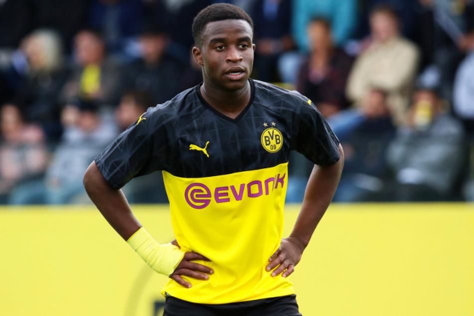 Youssoufa Moukoko (15) brach für den BVB einen Torrekord nach dem anderen.