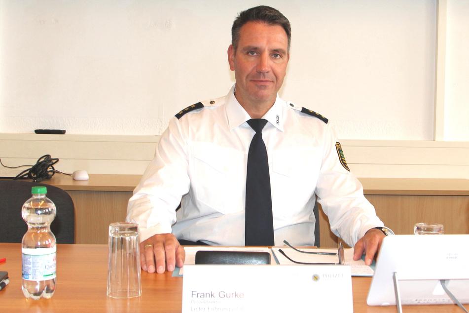 Räumte Fehler bei der Organisation der Fahrradregistrierung ein: Frank Gurke (50), Leiter des Führungsstabes der Polizeidirektion Leipzig.