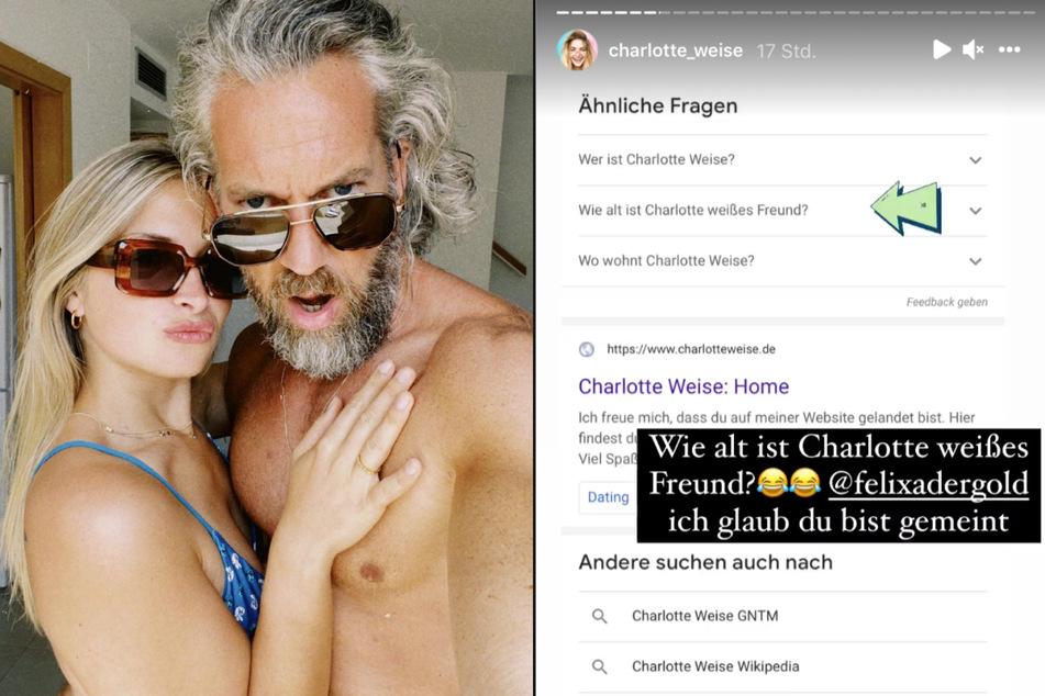 Charlotte und Felix erwarten ihr erstes gemeinsames Kind.