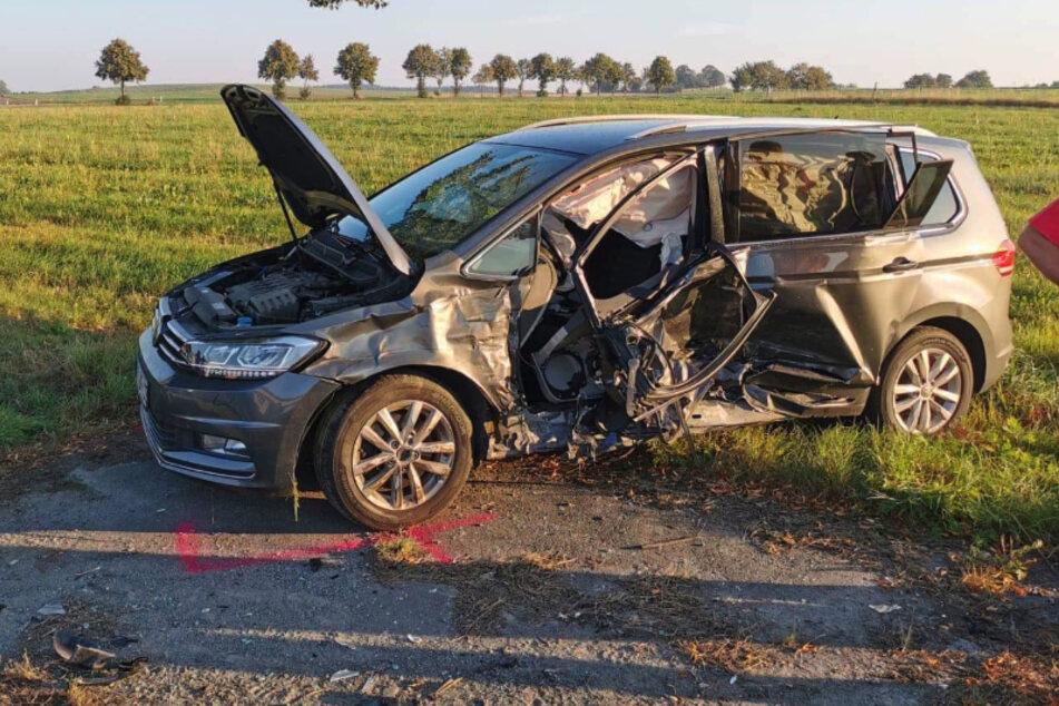 Crash im Erzgebirge: Frau gerät in Gegenverkehr