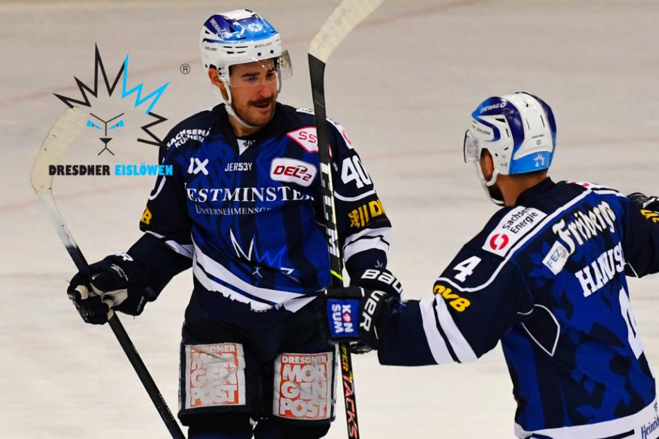 Eislöwen feiern gegen Landshut den zweiten Sieg in Folge!