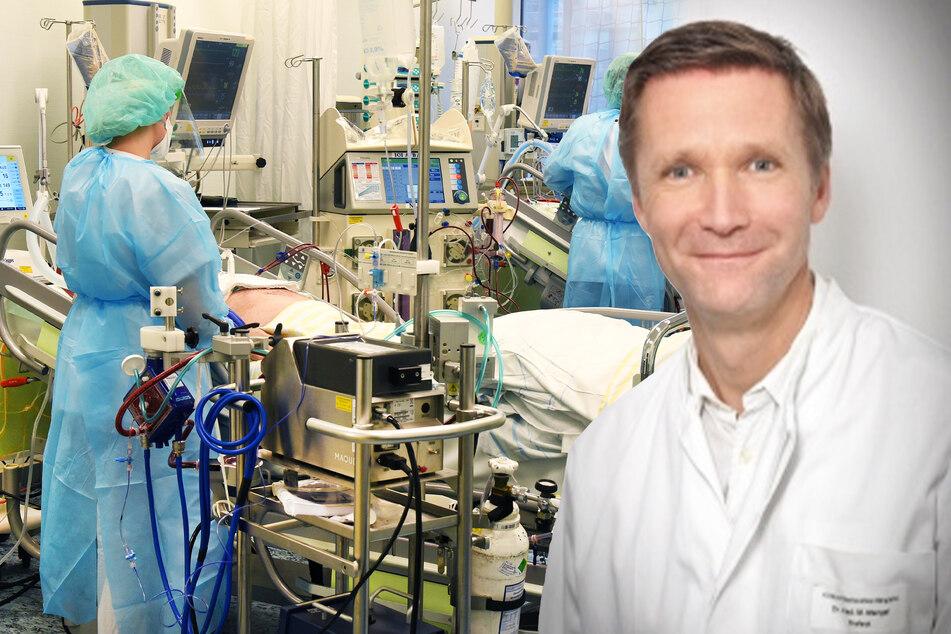 Welcher Patient wird beatmet, welcher nicht? Mit dieser Frage beschäftigt sich anscheinend bereits der ärztliche Direktor Mathias Mengel.