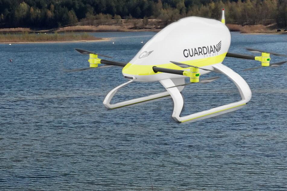 Notfall am Badesee: Forscher entwickeln Drohne für Rettung aus der Luft!