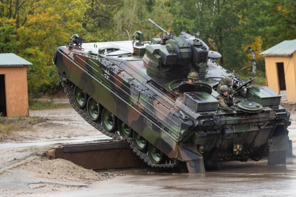 Mehrere Panzer werden ab Montag nach Ohrdruf verlegt (Symbolbild).