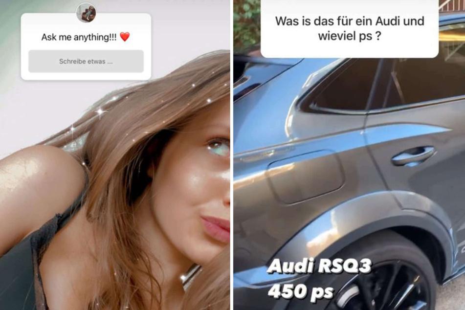 Davina Geiss (18) verriet bei Instagram kürzlich, dass ihr Audi RS Q3 satte 450 PS unter der Haube hat.