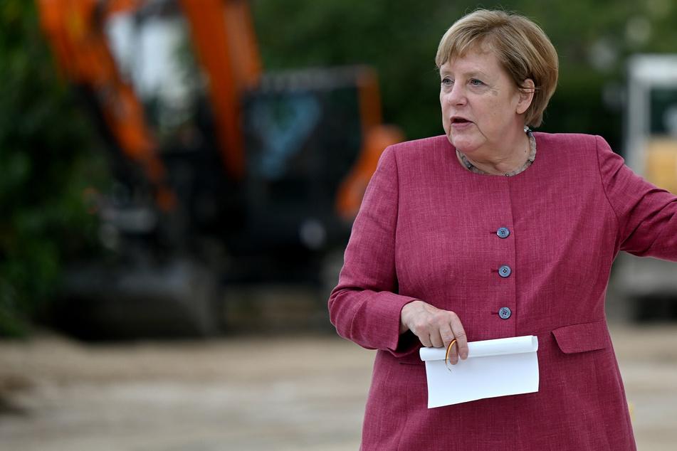 Bundeskanzlerin Angela Merkel hat (67, CDU) besuchte am Freitag Templin anlässlich des 750-jährigen Stadtjubiläums der Stadt.