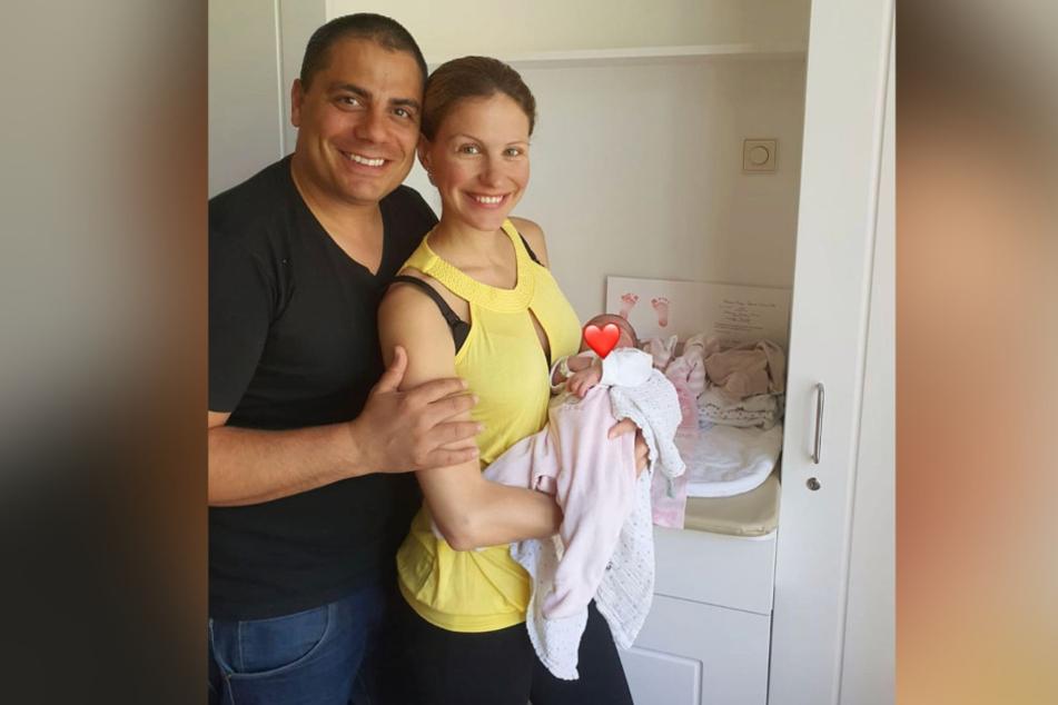 Silva Gonzalez und Stefanie Schanzleh sind frisch gebackene Eltern.