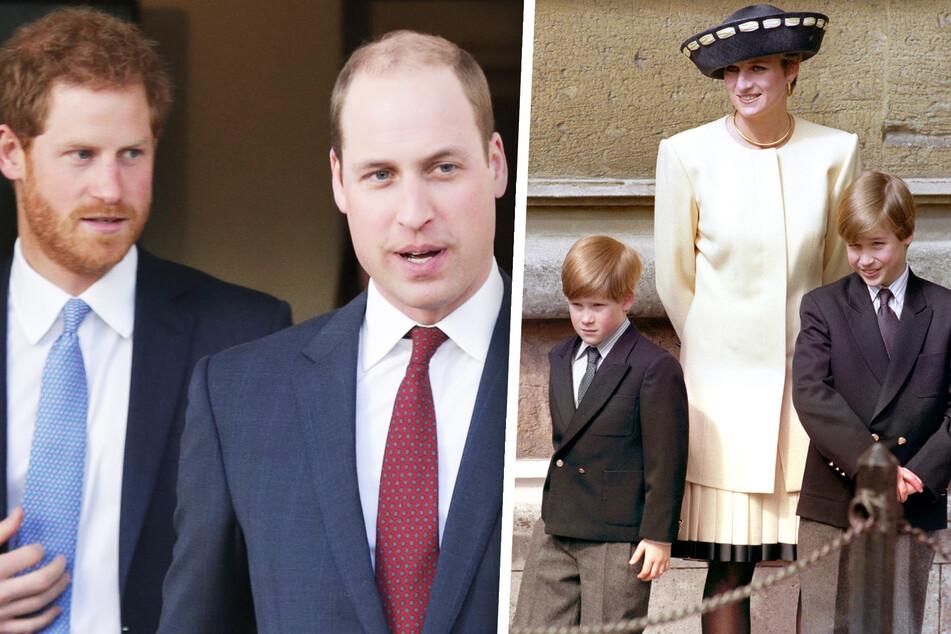 Zu Ehren ihrer geliebten Mutter: Versöhnen sich heute William und Harry?