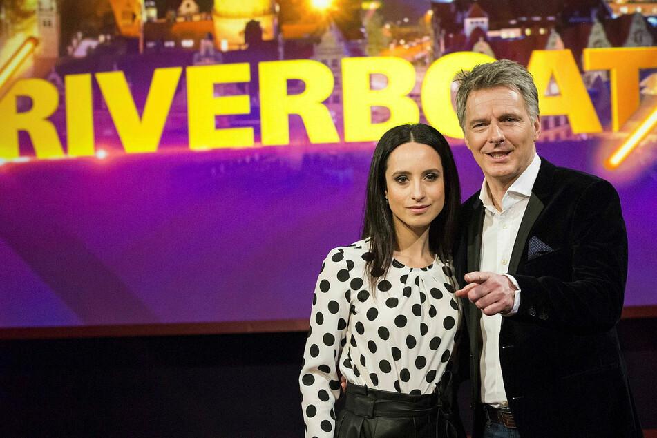 """Stephanie Stumph (36) und Jörg Pilawa (55) moderierten für knapp zwei Jahre gemeinsam """"Riverboat""""."""