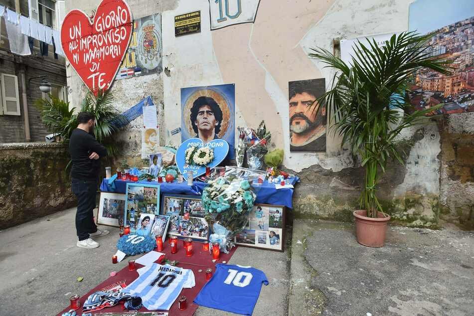 Diego Maradona died in Buenos Aires at the age of 60.