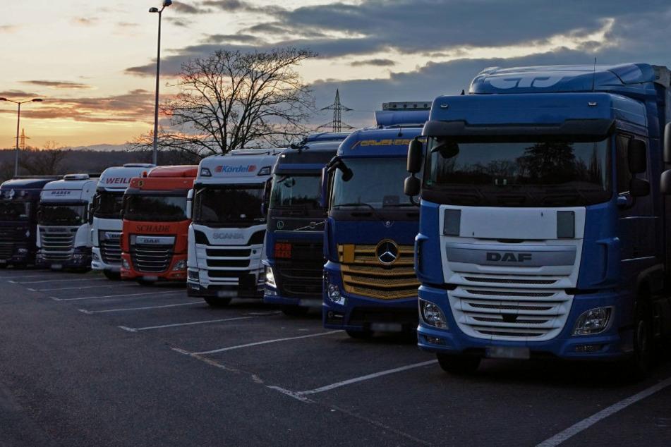 Mehr als 400 neue Lkw-Parkplätze an Thüringens Autobahnen geplant