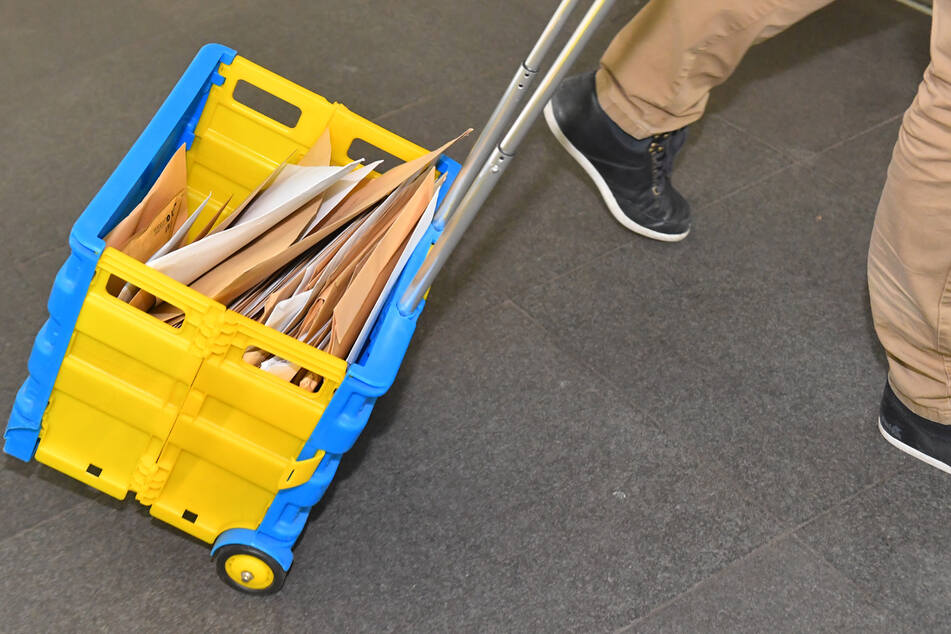 Der Briefkasten im WTC musste stündlich geleert werden.