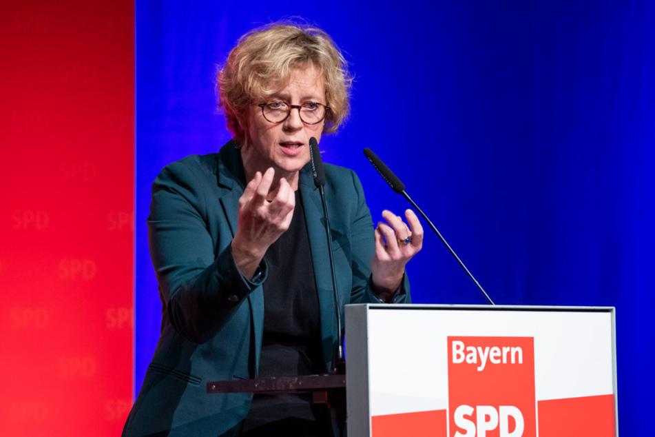 SPD-Landeschefin Natascha Kohnen soll nicht mehr für die Neuwahl des Landesvorstands kandidieren wollen. (Archivbild)