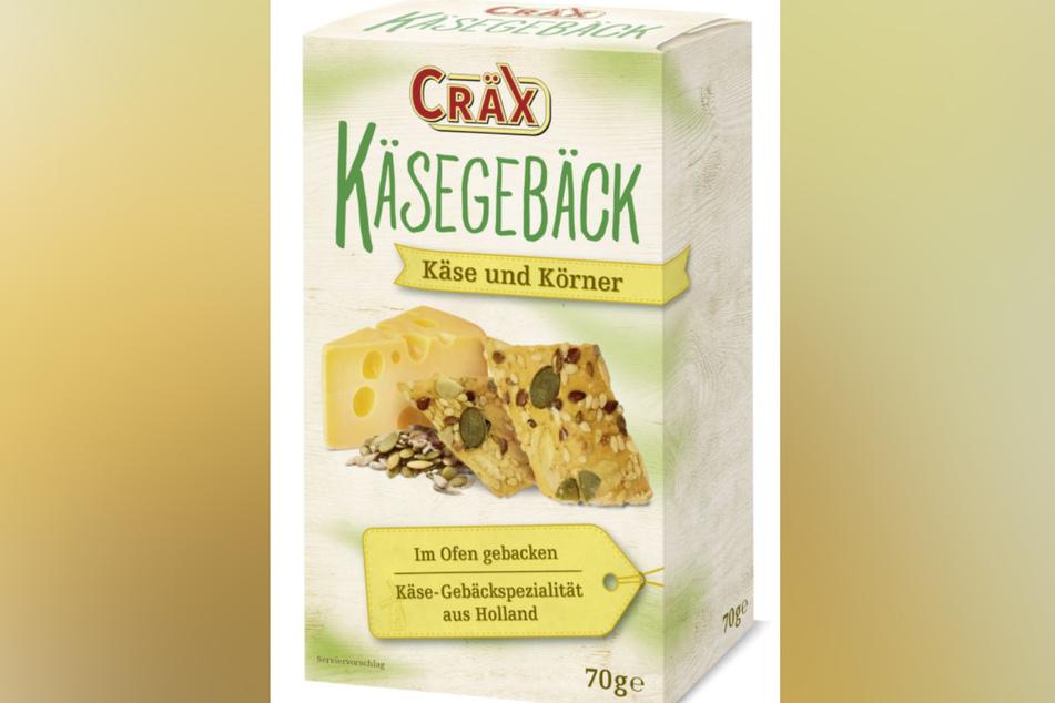 Diese Käse & Körner-Cracker der Marke Cräx