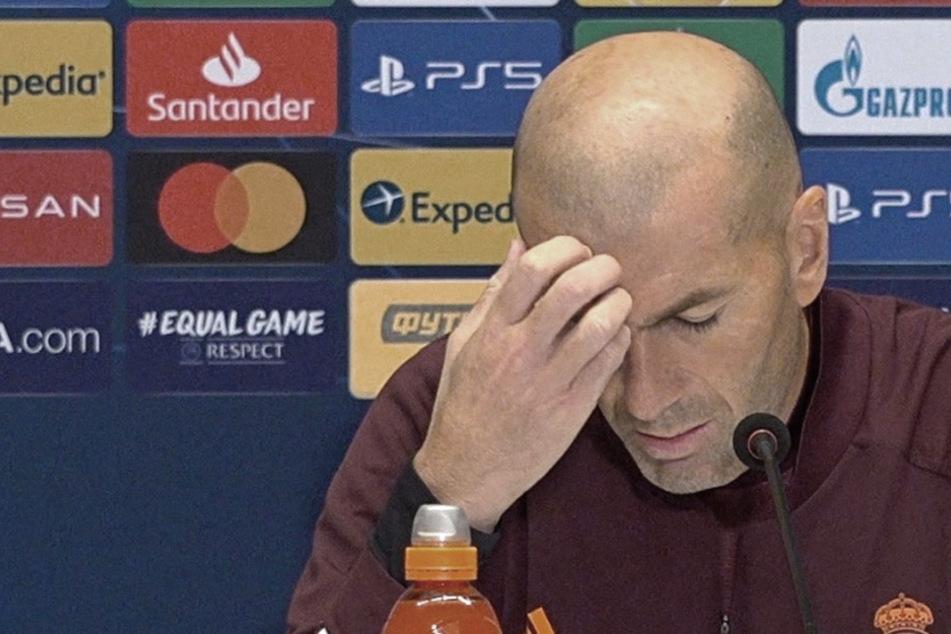 Zinedine Zidane spricht vom Ende bei Real Madrid! Sind die Tage des Franzosen gezählt?