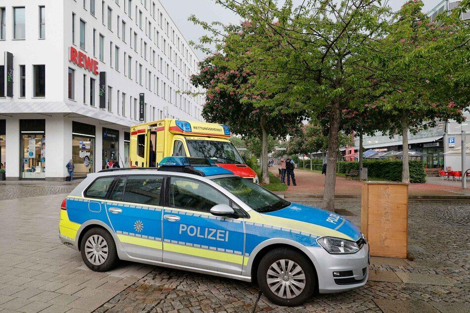 Schlägerei in der Chemnitzer City: Ein Mann (32) wurde bei der Auseinandersetzung verletzt.