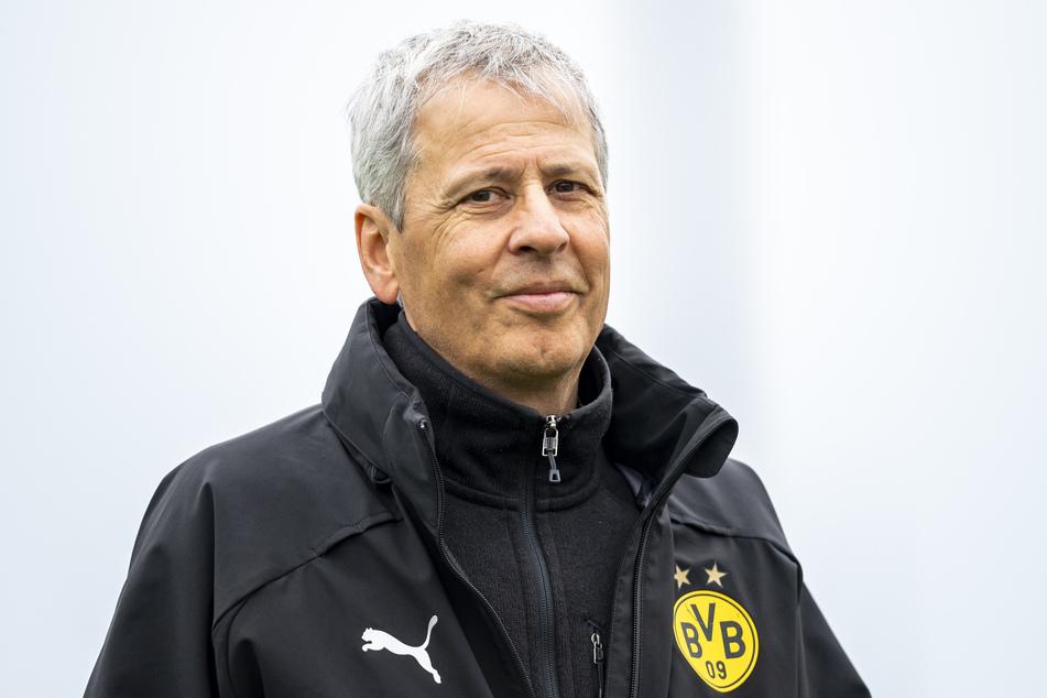 Auch nächste Saison an der Seitenlienie der Dortmunder Borussia: Lucien Favre (60).