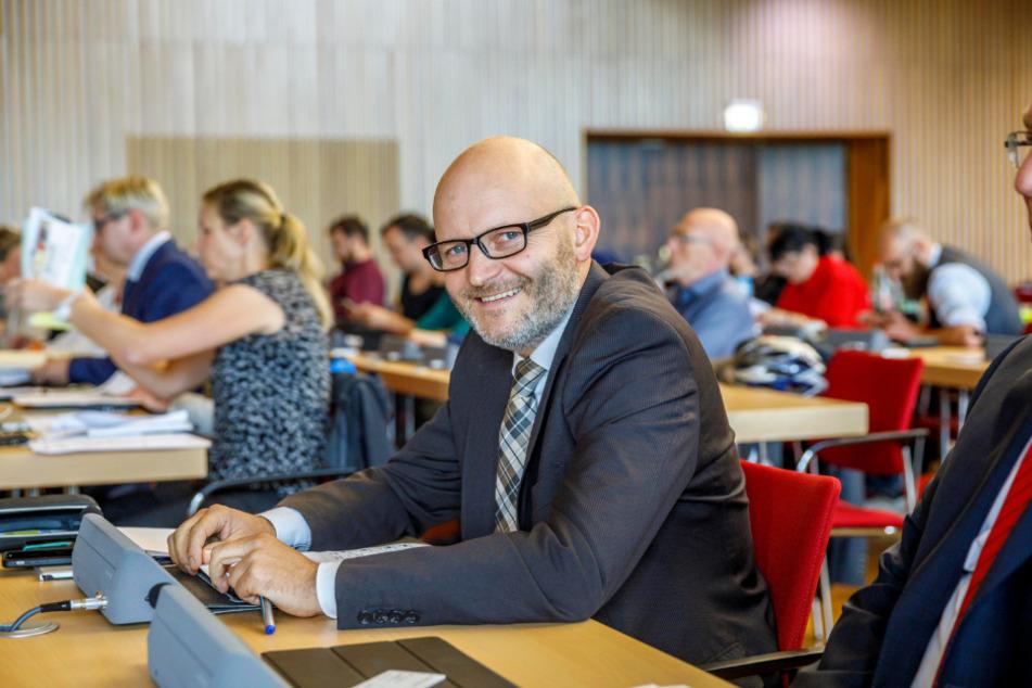 Stadtrat Torsten Nitzsche (45, Freie Wähler).