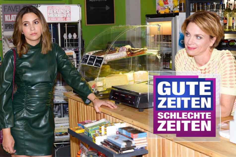 GZSZ: Laura erzählt ihrer Mutter die Wahrheit über Moritz