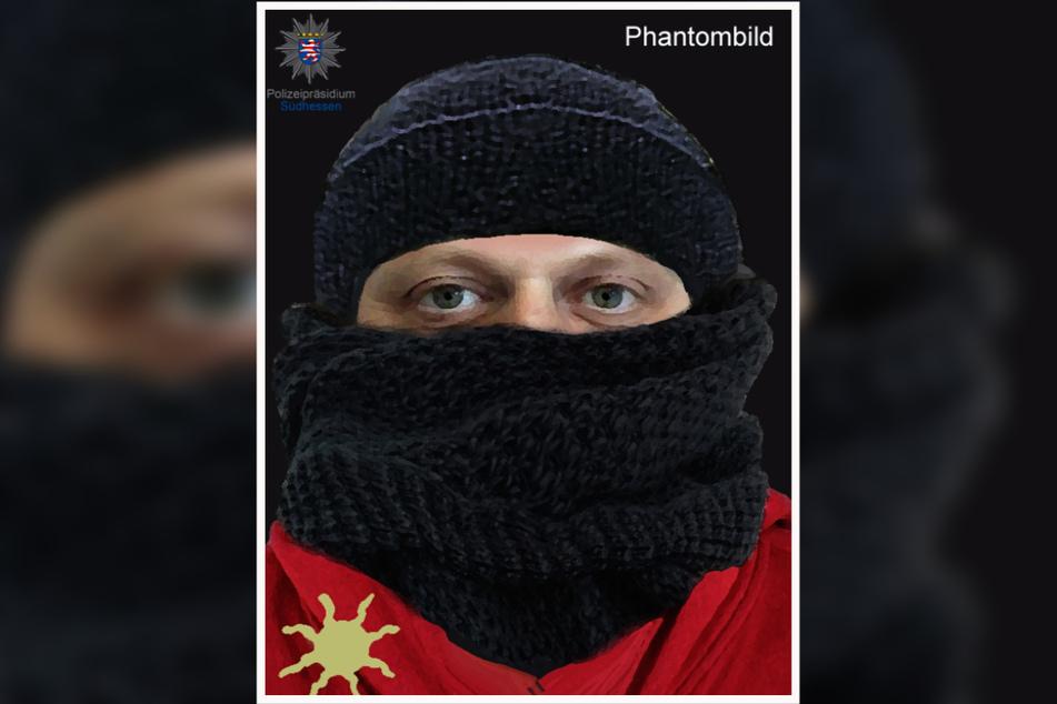 Dieses Phantombild fertigte das Landeskriminalamt Hessen nach dem Überfall vom Täter an.