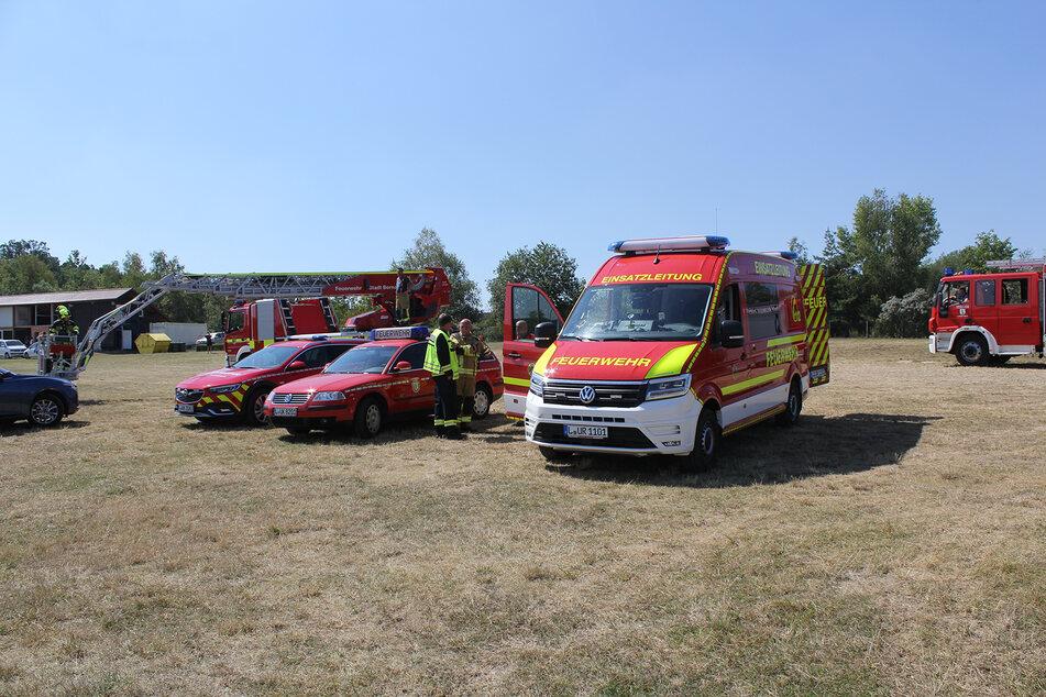 Etwa 40 Kameraden aus sechs Feuerwehren waren im Einsatz.