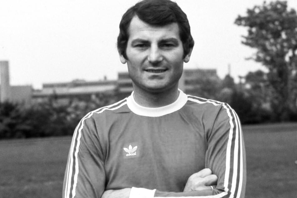 """Von 1972 bis 1975 lief Abwehrspieler Ludwig """"Luggi"""" Müller für Hertha BSC auf."""