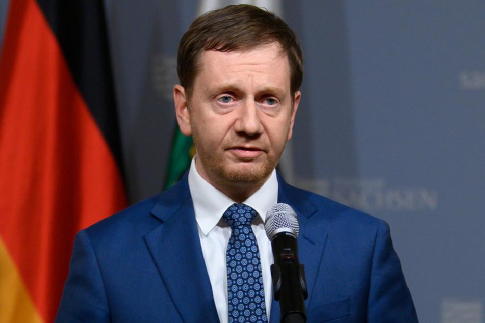 Will den harten Lockdown: MP Michael Kretschmer (45, CDU).