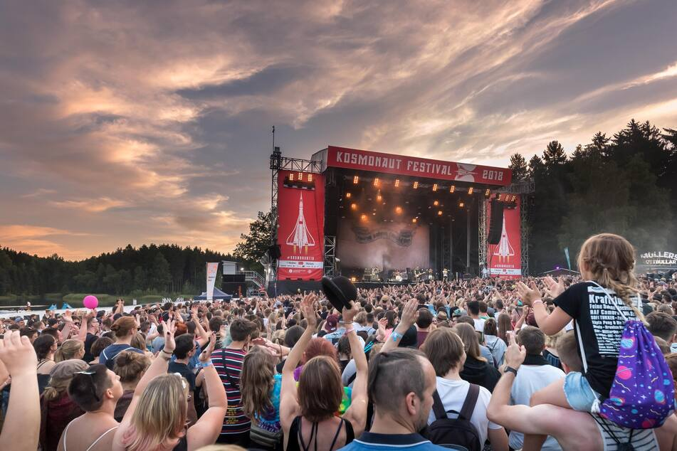 Sechs Jahre in Folge fand das Kosmonaut Festival am Stausee Rabenstein statt (Archivbild).