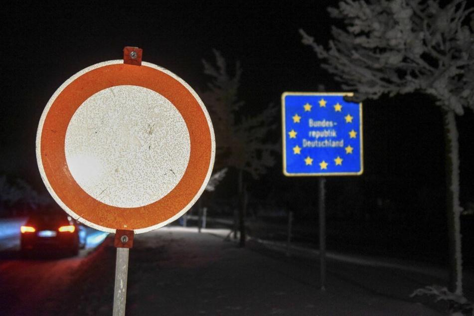 Grenzschließung zu Tschechien. Egal ob in der Oberlausitz oder auf der Autobahn 17.