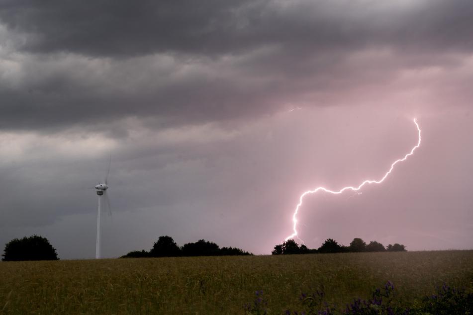 Sturm und Gewitter dominieren an diesem Wochenende das Bundesland Sachsen. Gerade in Richtung Dresden kann es richtig ungemütlich werden. (Symbolbild)