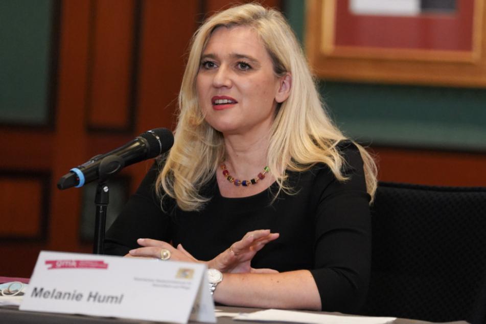Melanie Huml (CSU), Bayerische Staatsministerin für Gesundheit und Pflege.