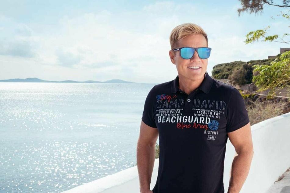 Ab Montag (19.4.) ist Dieter Bohlen mit der neuen Camp David-Kollektion exklusiv bei Lidl