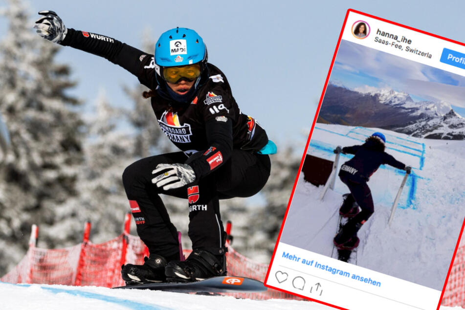 WM-Aus für Spitzen-Snowboarderin: Hanna Ihedioha verletzt sich im Training