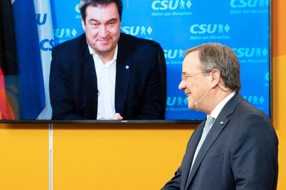 Die Entscheidung ist gefallen: CSU-Chef Markus Söder (54) hat Armin Laschet (59, CDU) per Twitter zum neuen Posten gratuliert.
