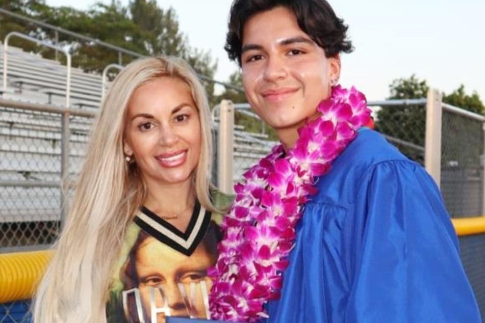 Marcela Iglesias (43) hat bereits einen Sohn namens Rodrigo (19).