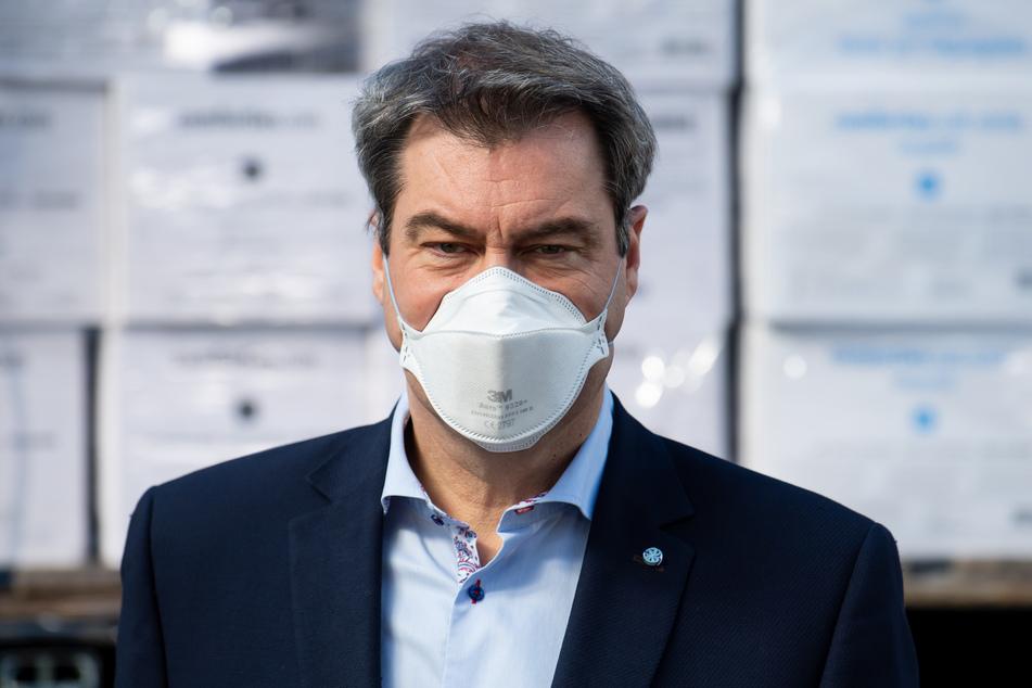 Bayerns Ministerpräsident Markus Söder (CSU) will von der gemeinsamen Bund-Länder-Linie abweichen.