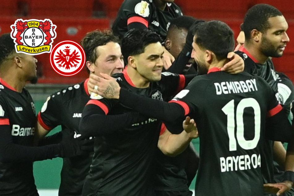 Revanche im DFB-Pokal: Bayer dreht Partie gegen Frankfurt und steht im Achtelfinale