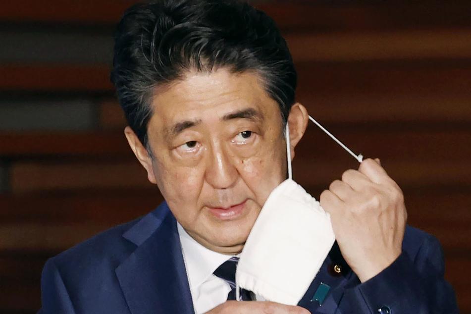 Shinzo Abe, Premierminister von Japan.