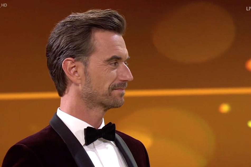 """Florian Silbereisen (39) war sichtlich stolz auf seinen """"Schützling"""" Ramon (26)."""