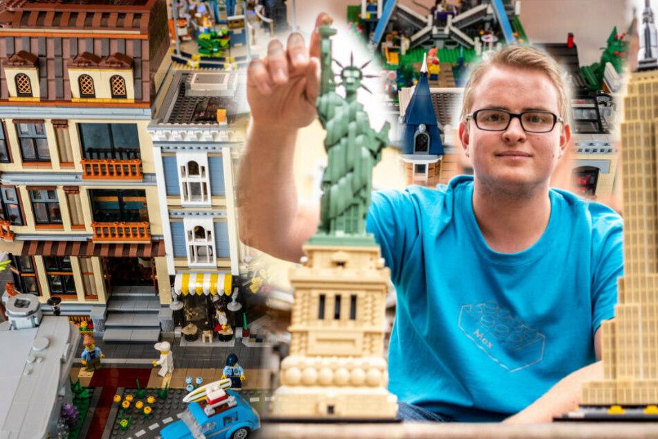 Chemnitz: Mit Harry-Potter-Schloss und Freiheitsstatue: Mini-Lego-Schau statt Stadtfest-Party!