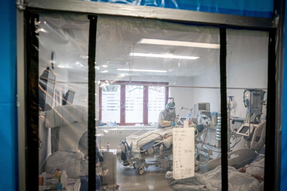 Nicht nur auf der Intensivstation des Krankenhauses Bethel Berlin leisten Pflegekräfte in der Pandemie Erstaunliches.