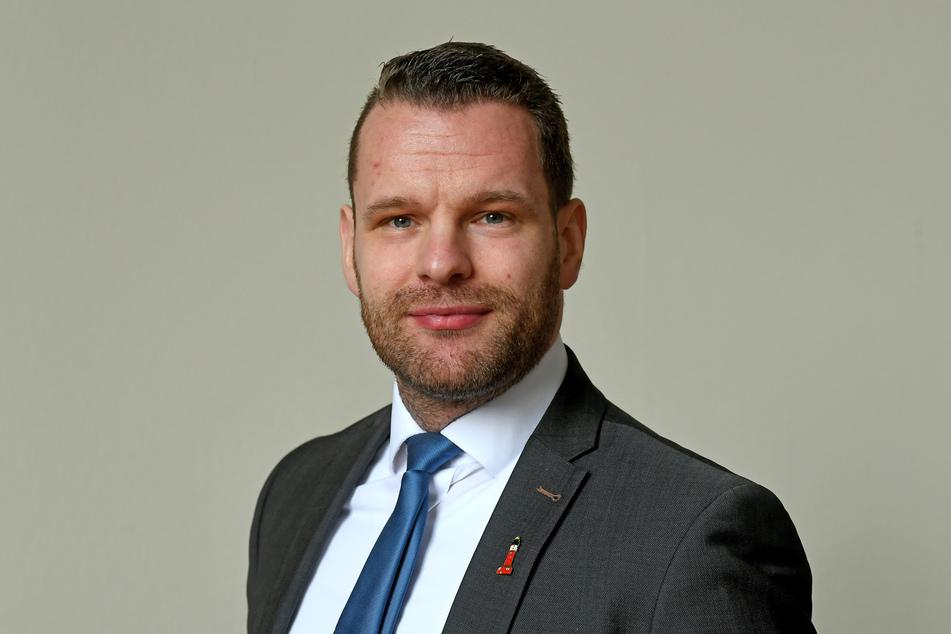 Marcel Fangohr, Bürgermeister der ostfriesischen Insel Wangerooge.