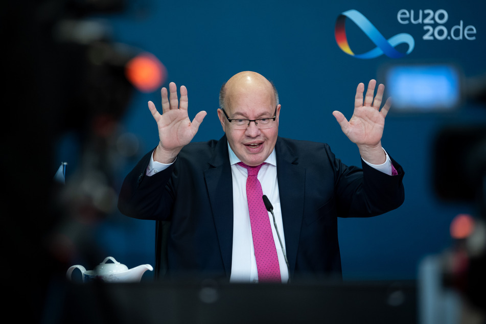 Peter Altmaier (CDU), Bundesminister für Wirtschaft und Energie.