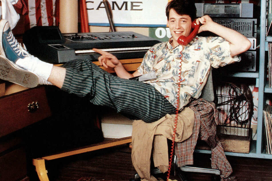 Ferris Bueller's Day Off (1986) is also turning 35 this June (archive image).