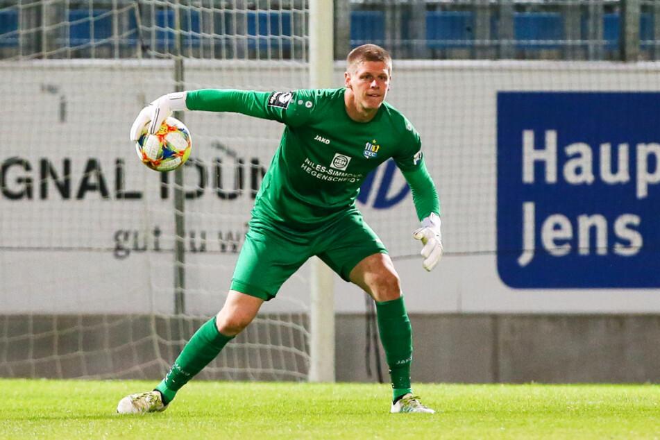 """""""Alt"""" und wichtig: Drittliga-Stammkeeper Jakub Jakubov hat dem CFC die Treue gehalten."""