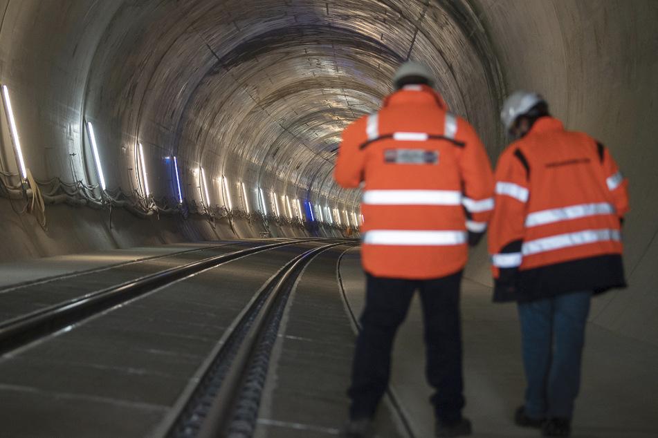 Der Mann war für Bauarbeiten im S-Bahntunnel unterwegs. (Symbolbild)