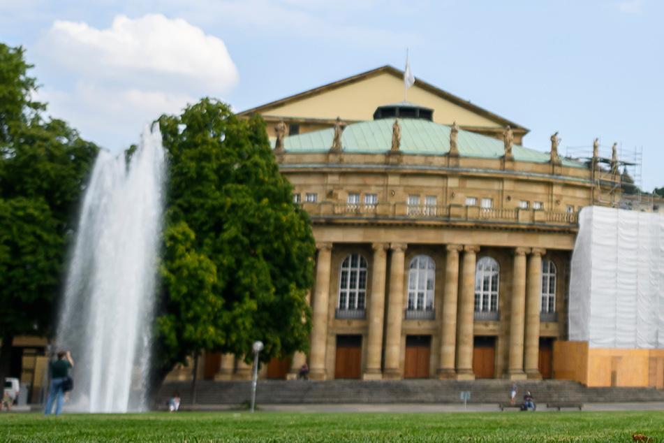 Die Staatsoper in Stuttgart.